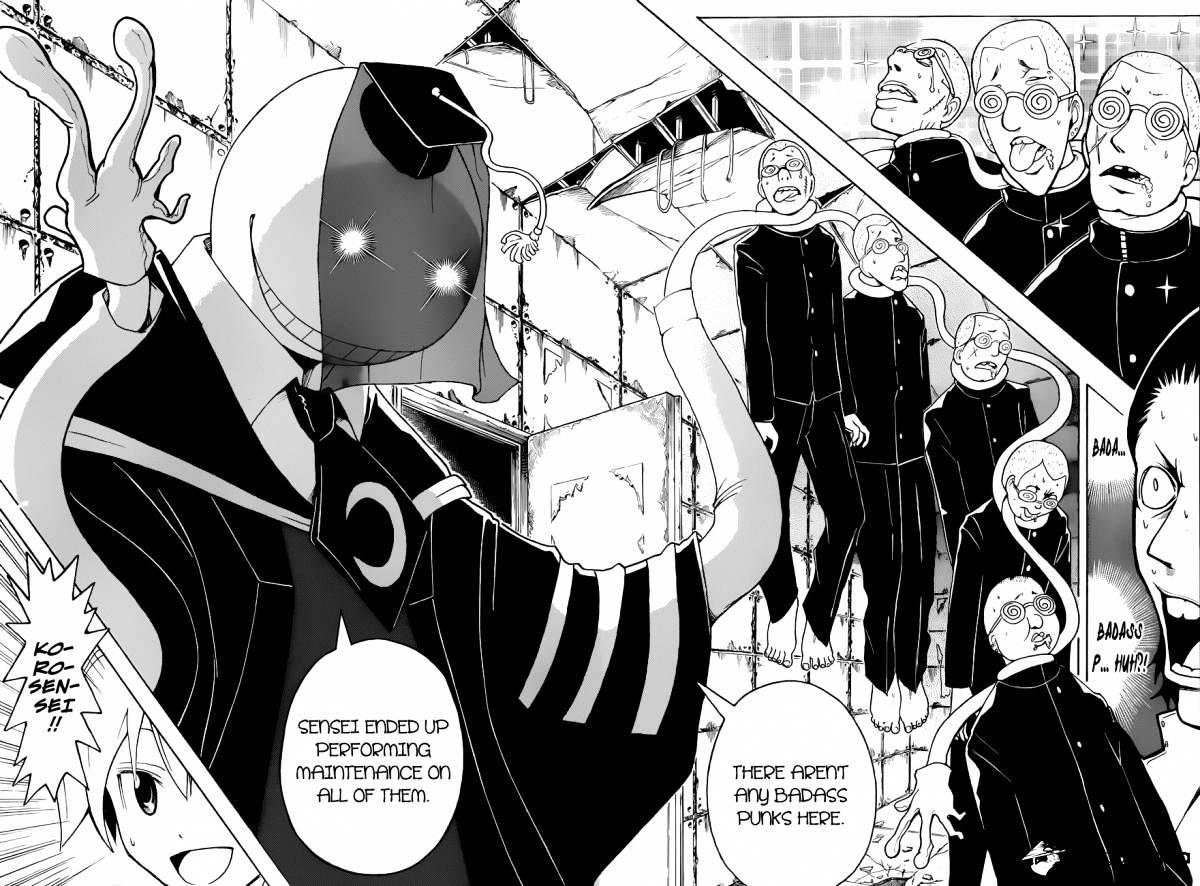 Ansatsu Kyoushitsu Chapter 17  Online Free Manga Read Image 16