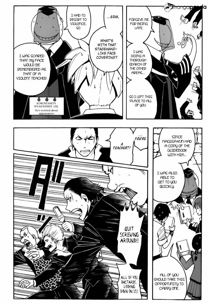 Ansatsu Kyoushitsu Chapter 17  Online Free Manga Read Image 17