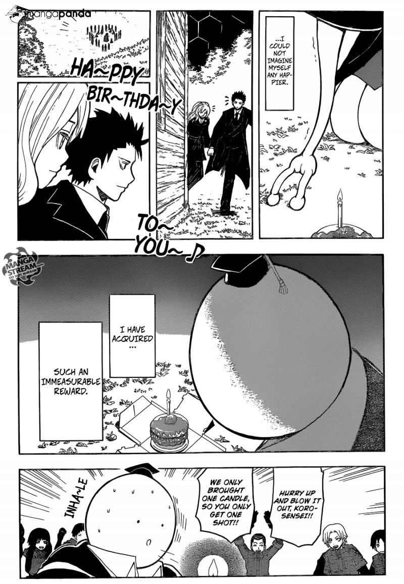Ansatsu Kyoushitsu Chapter 170.2  Online Free Manga Read Image 15