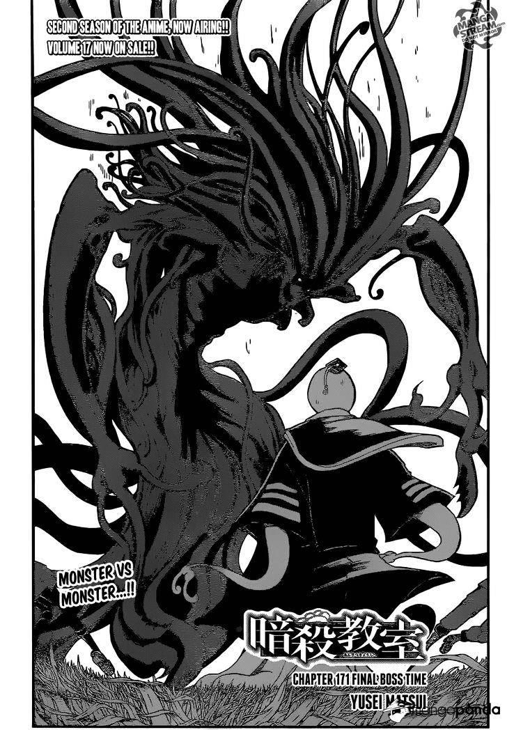 Ansatsu Kyoushitsu Chapter 171  Online Free Manga Read Image 3