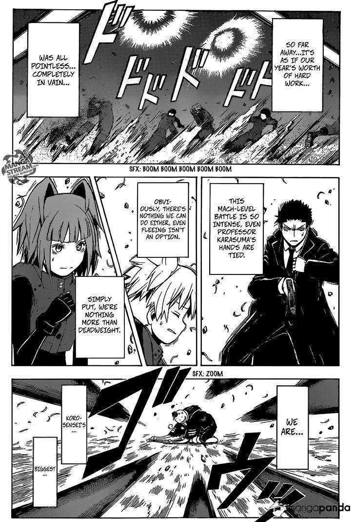 Ansatsu Kyoushitsu Chapter 172  Online Free Manga Read Image 13