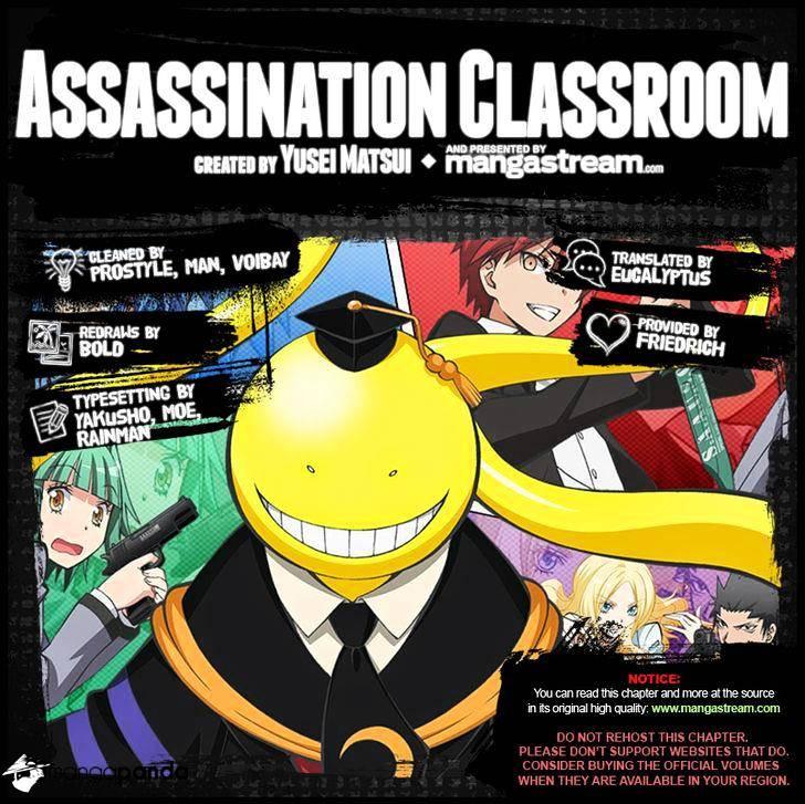 Ansatsu Kyoushitsu Chapter 172  Online Free Manga Read Image 2