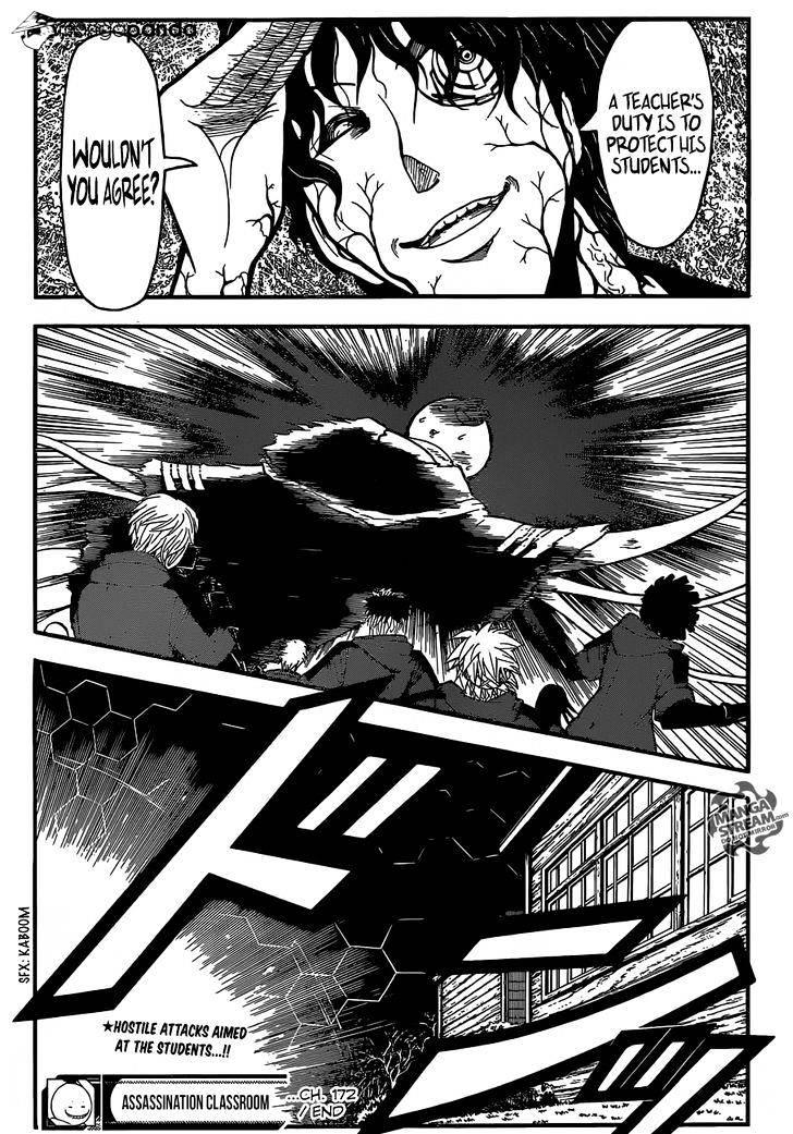 Ansatsu Kyoushitsu Chapter 172  Online Free Manga Read Image 21