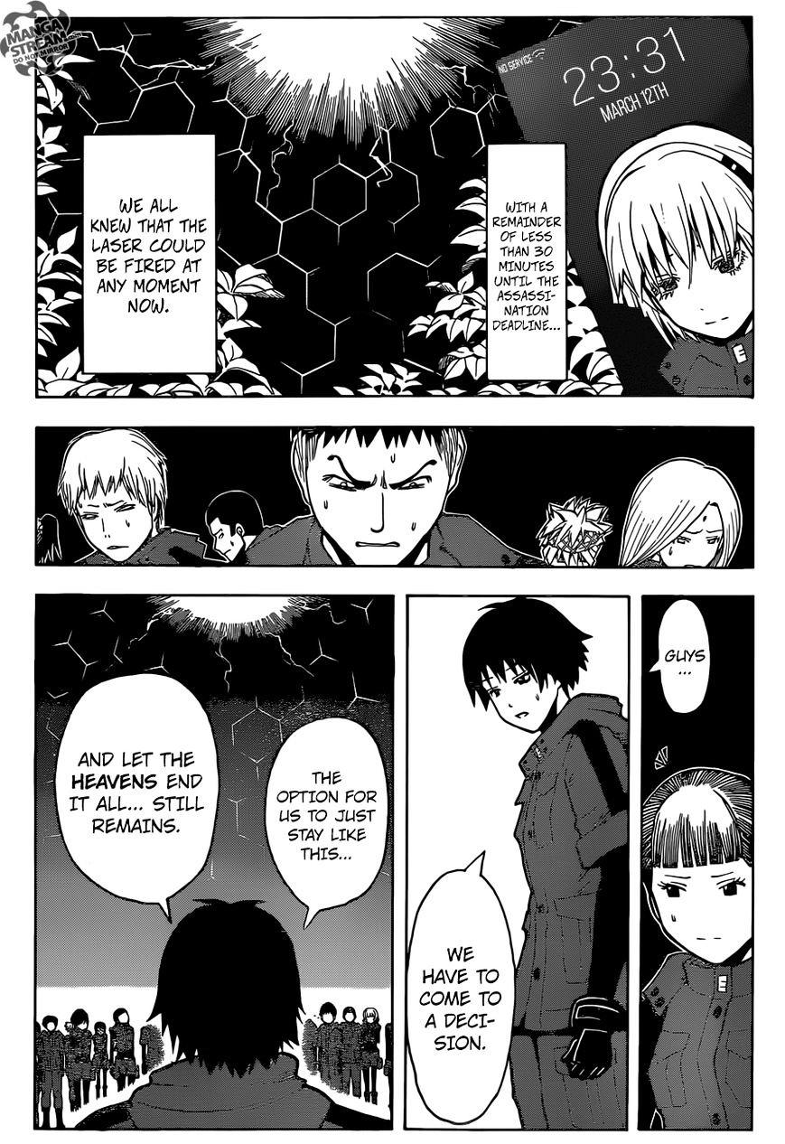 Ansatsu Kyoushitsu Chapter 176  Online Free Manga Read Image 11