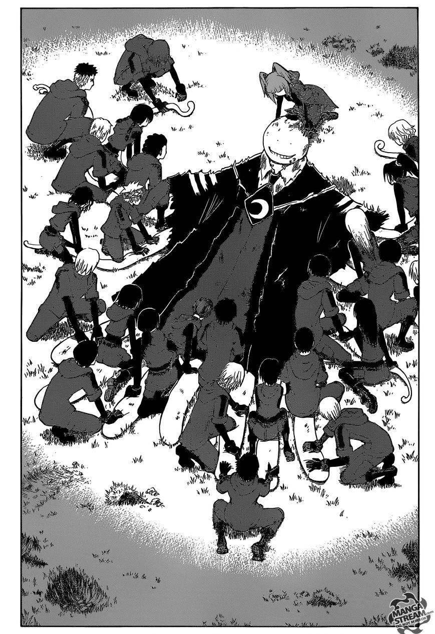 Ansatsu Kyoushitsu Chapter 176  Online Free Manga Read Image 16