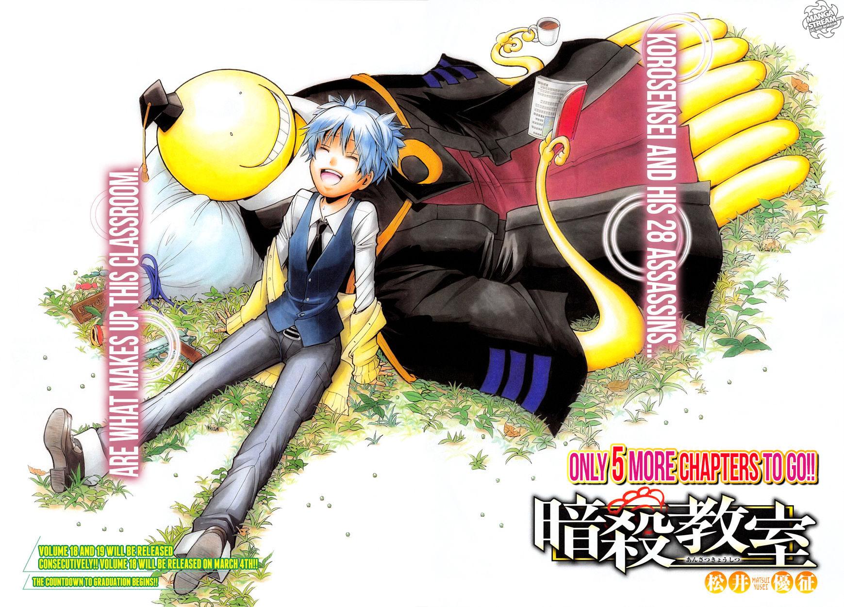Ansatsu Kyoushitsu Chapter 176  Online Free Manga Read Image 3