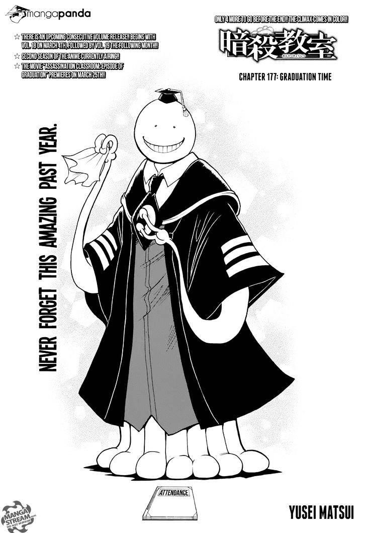 Ansatsu Kyoushitsu Chapter 177  Online Free Manga Read Image 10