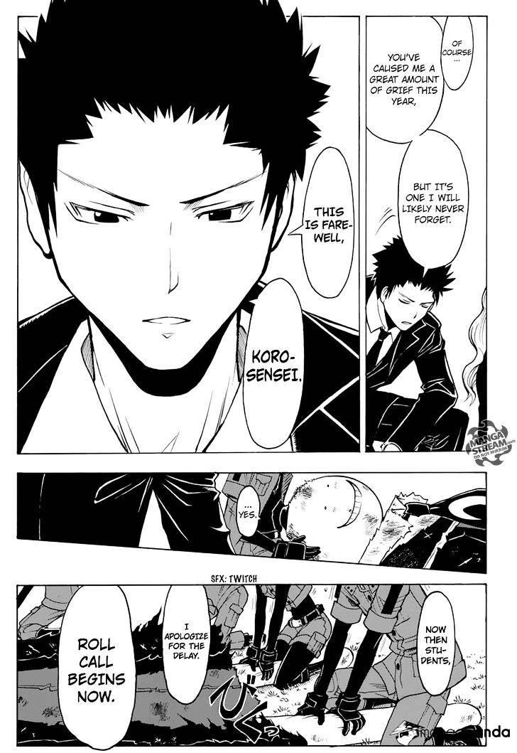 Ansatsu Kyoushitsu Chapter 177  Online Free Manga Read Image 3