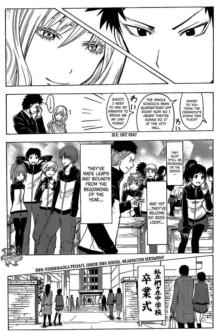 Ansatsu Kyoushitsu Chapter 178  Online Free Manga Read Image 12