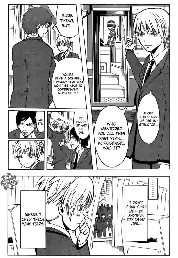 Ansatsu Kyoushitsu Chapter 178  Online Free Manga Read Image 21