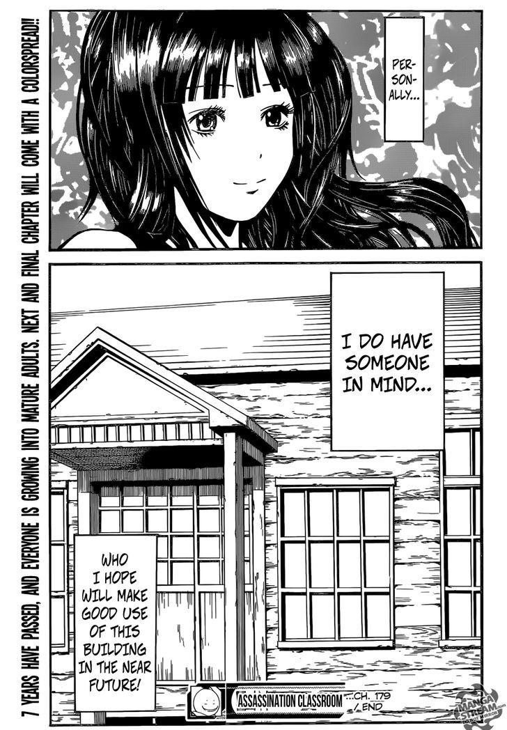 Ansatsu Kyoushitsu Chapter 179  Online Free Manga Read Image 22