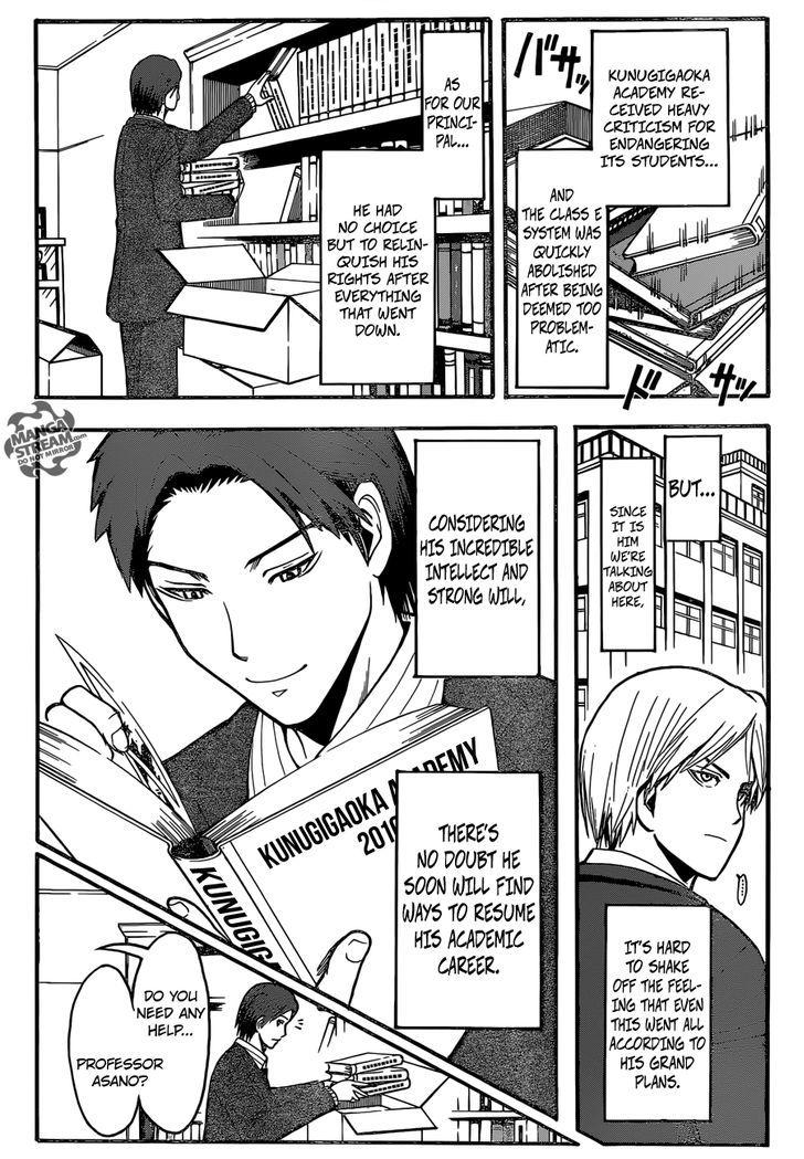 Ansatsu Kyoushitsu Chapter 179  Online Free Manga Read Image 5
