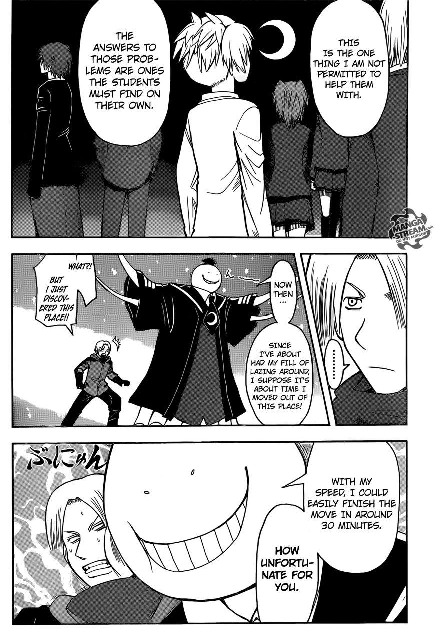 Ansatsu Kyoushitsu Chapter 180.1  Online Free Manga Read Image 18