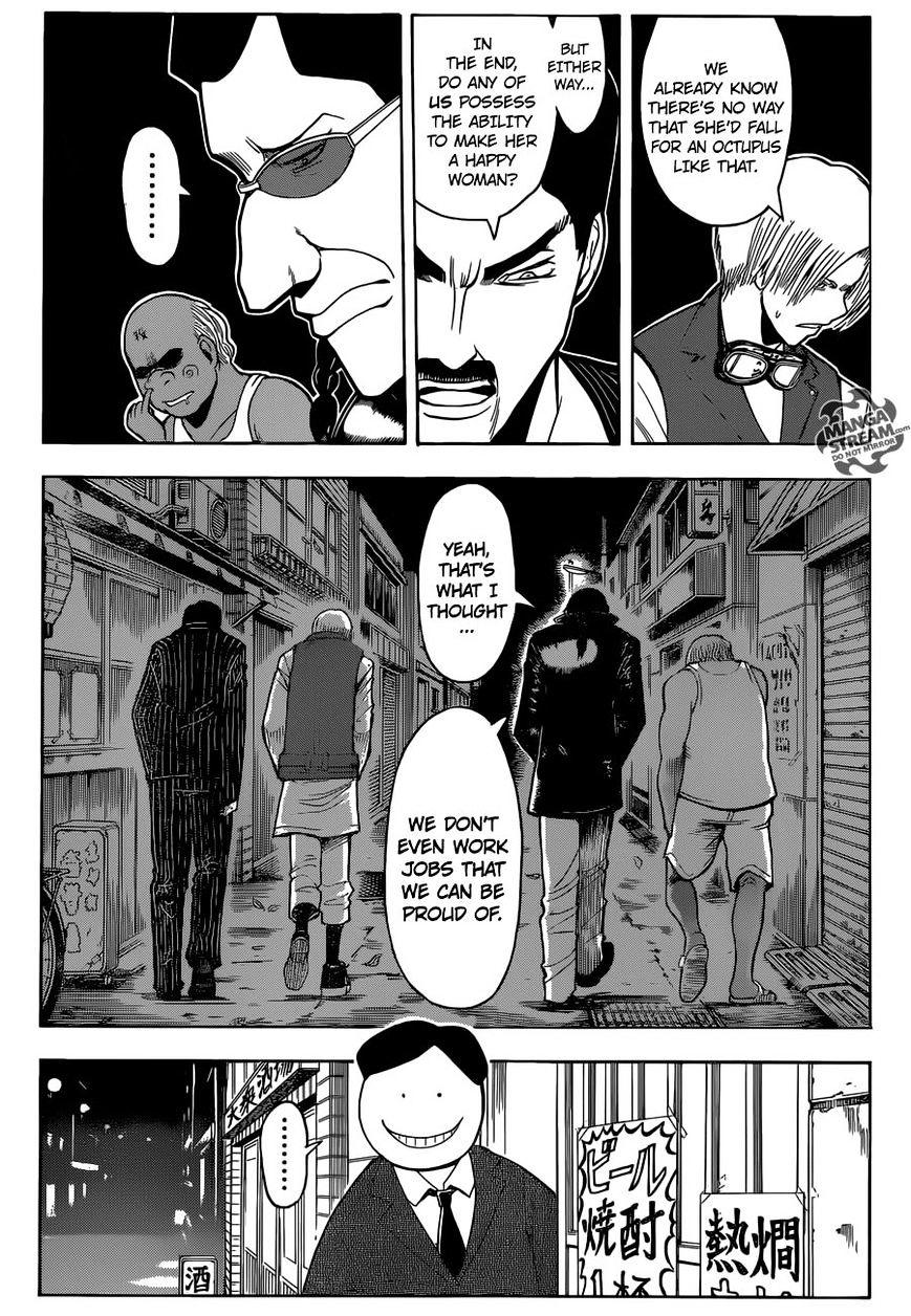 Ansatsu Kyoushitsu Chapter 180.2  Online Free Manga Read Image 14