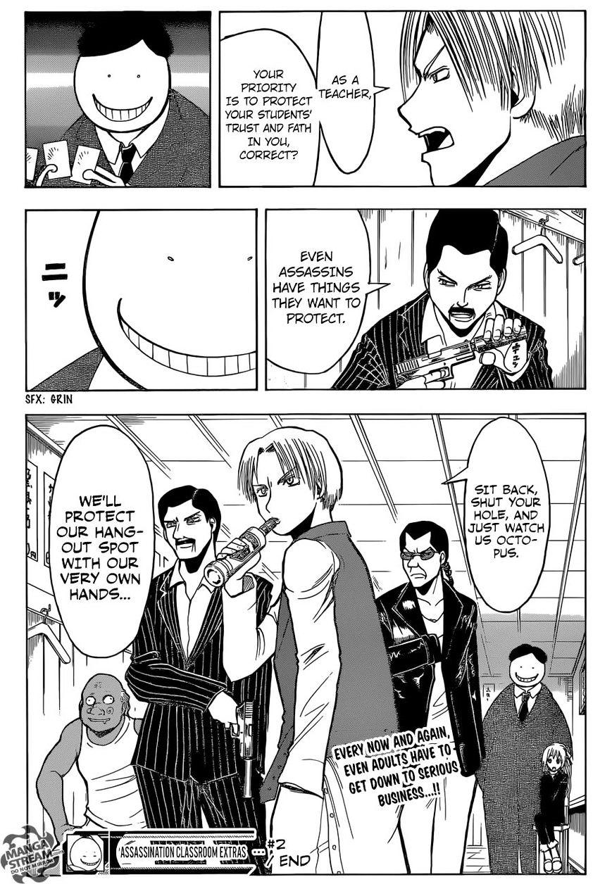Ansatsu Kyoushitsu Chapter 180.2  Online Free Manga Read Image 21