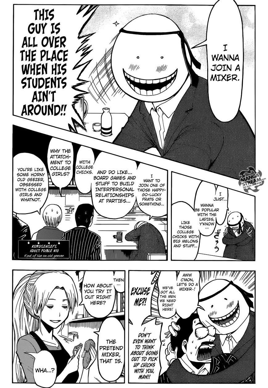 Ansatsu Kyoushitsu Chapter 180.2  Online Free Manga Read Image 8