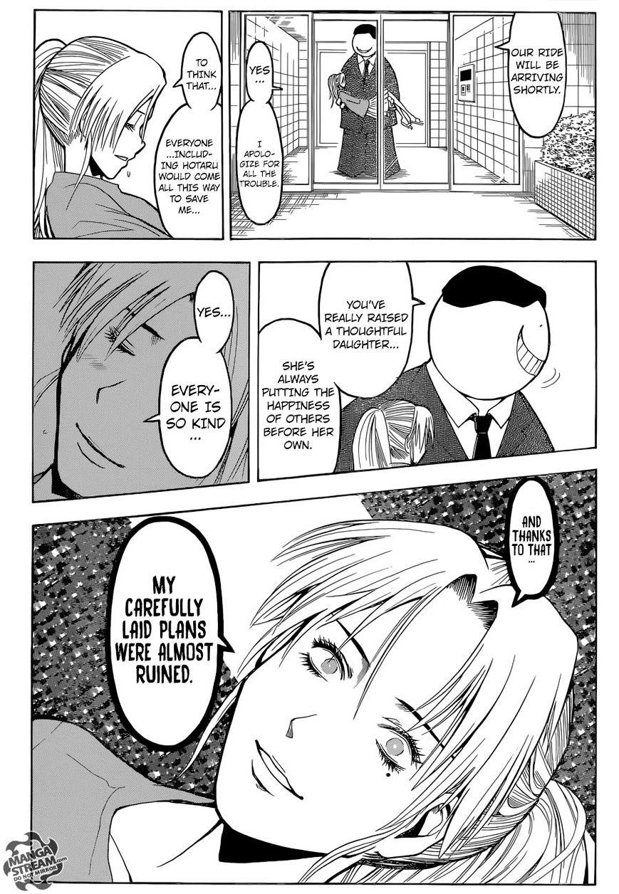 Ansatsu Kyoushitsu Chapter 180.3  Online Free Manga Read Image 20