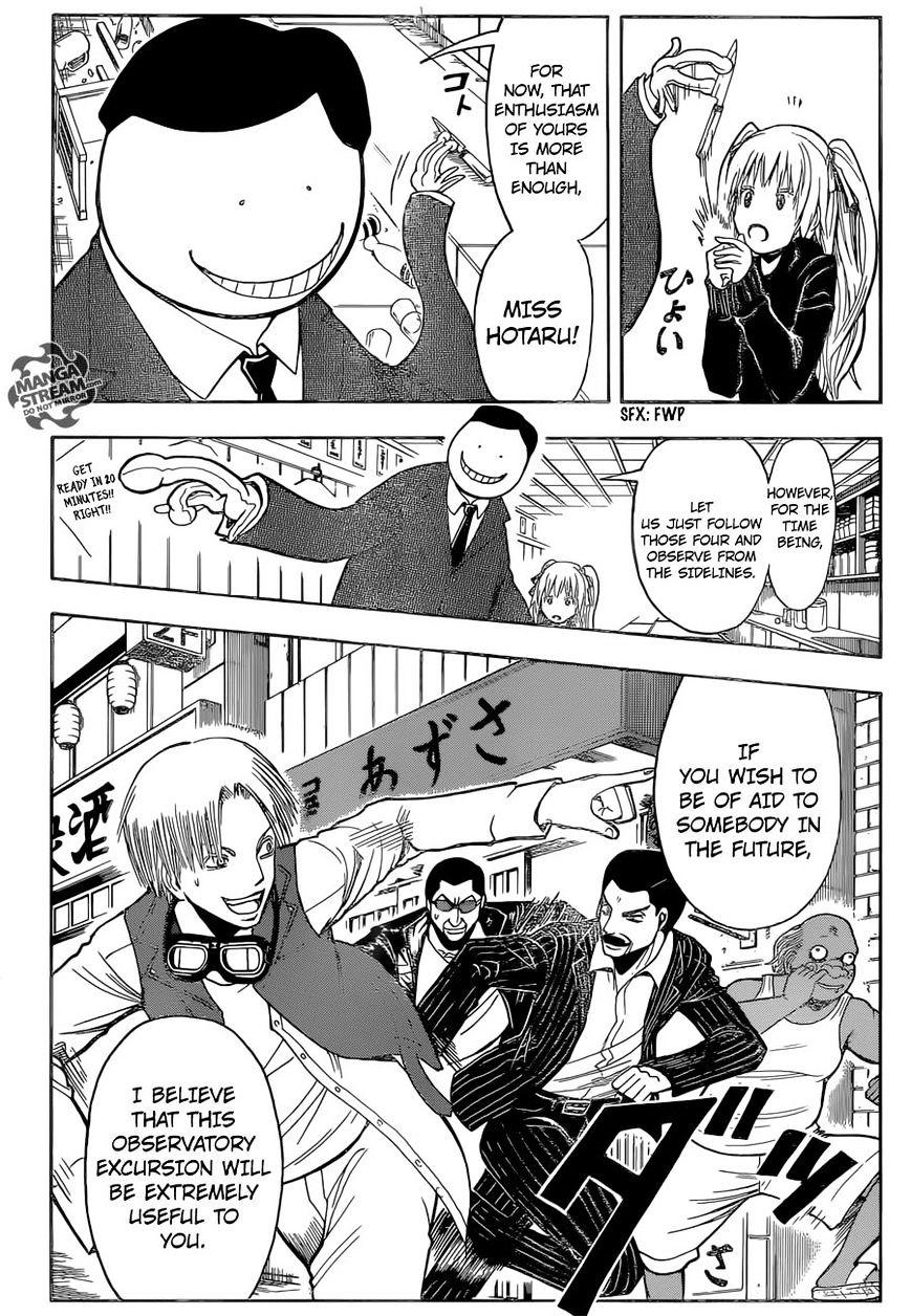 Ansatsu Kyoushitsu Chapter 180.3  Online Free Manga Read Image 4