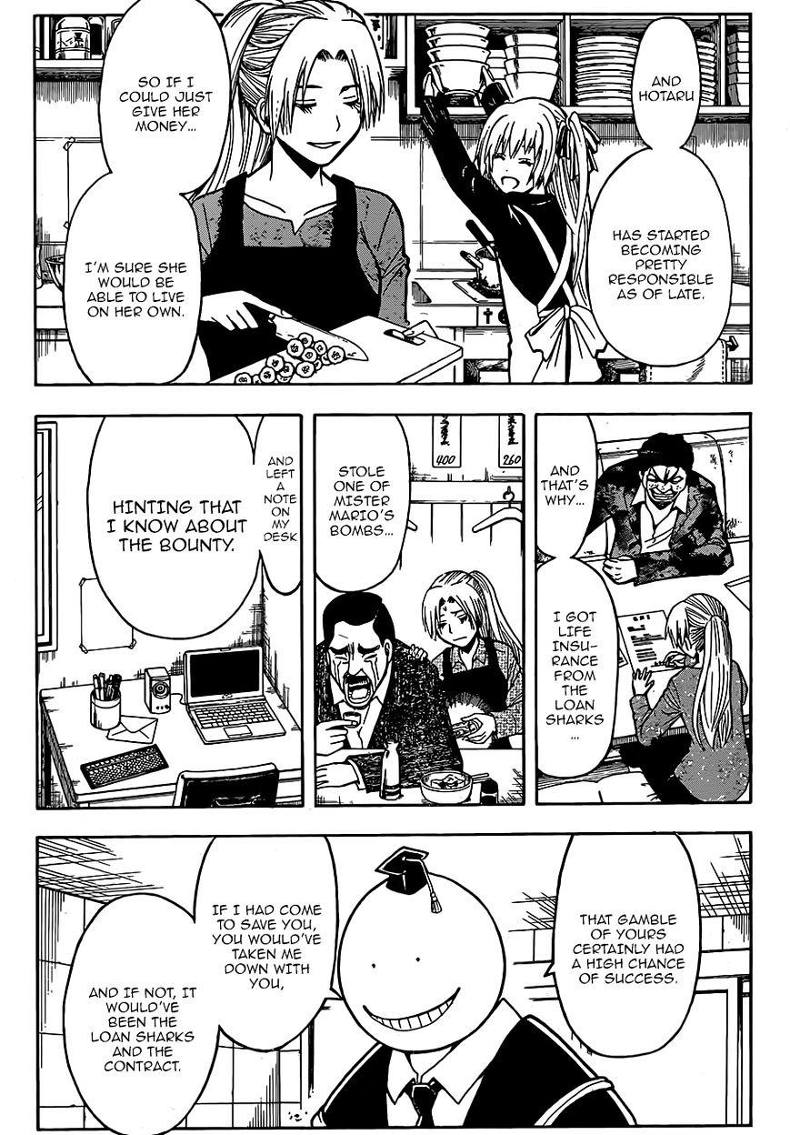 Ansatsu Kyoushitsu Chapter 180.4  Online Free Manga Read Image 9
