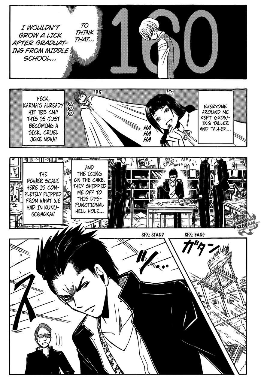 Ansatsu Kyoushitsu Chapter 180  Online Free Manga Read Image 19