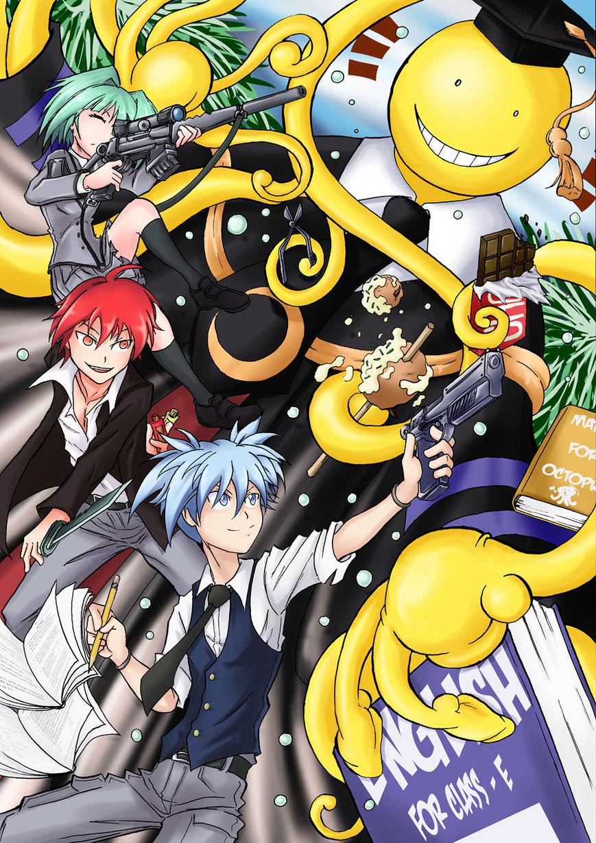 Ansatsu Kyoushitsu Chapter 180  Online Free Manga Read Image 29