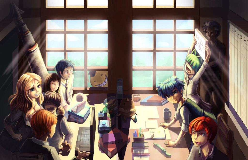 Ansatsu Kyoushitsu Chapter 180  Online Free Manga Read Image 4