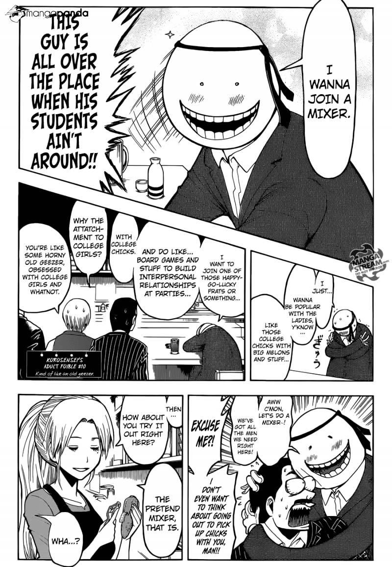 Ansatsu Kyoushitsu Chapter 182  Online Free Manga Read Image 6