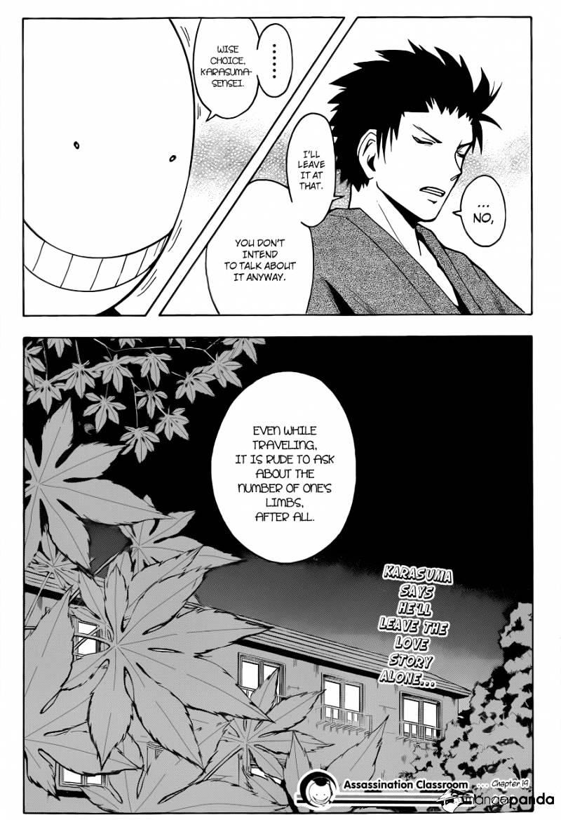 Ansatsu Kyoushitsu Chapter 19  Online Free Manga Read Image 20