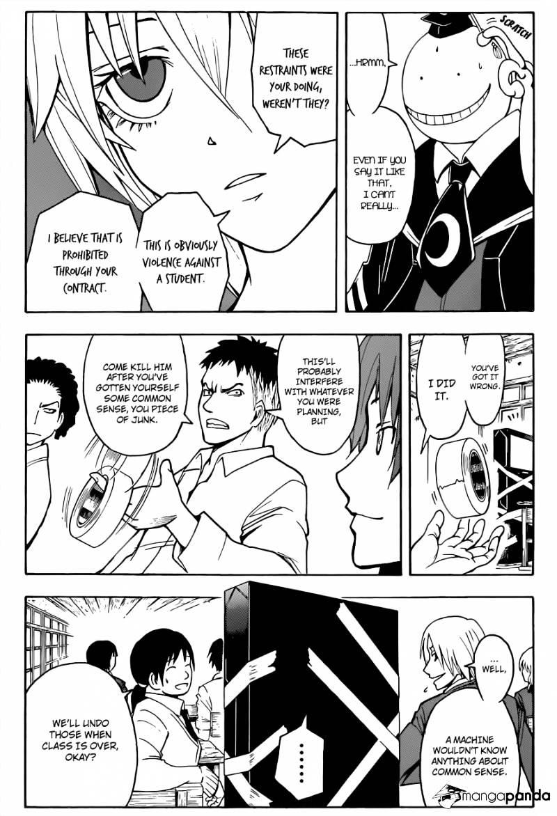 Ansatsu Kyoushitsu Chapter 21  Online Free Manga Read Image 9