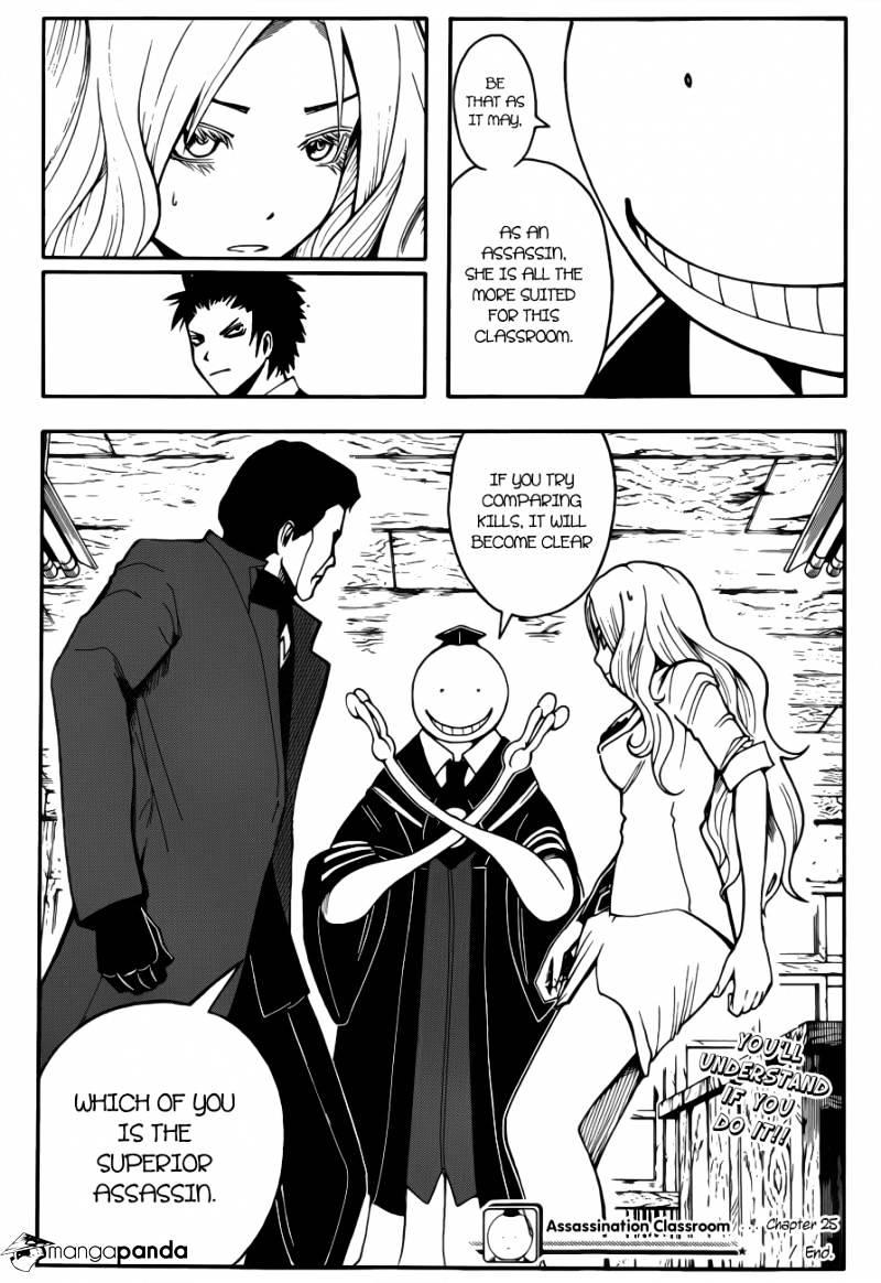 Ansatsu Kyoushitsu Chapter 25  Online Free Manga Read Image 20