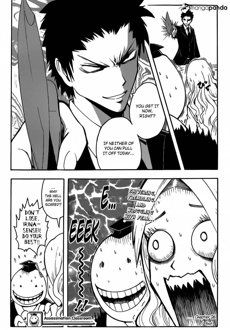Ansatsu Kyoushitsu Chapter 26  Online Free Manga Read Image 20
