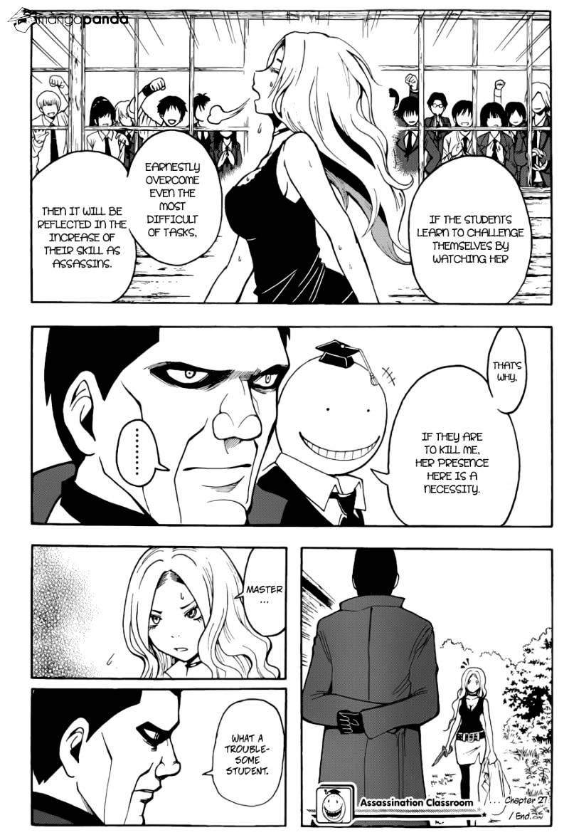 Ansatsu Kyoushitsu Chapter 27  Online Free Manga Read Image 19