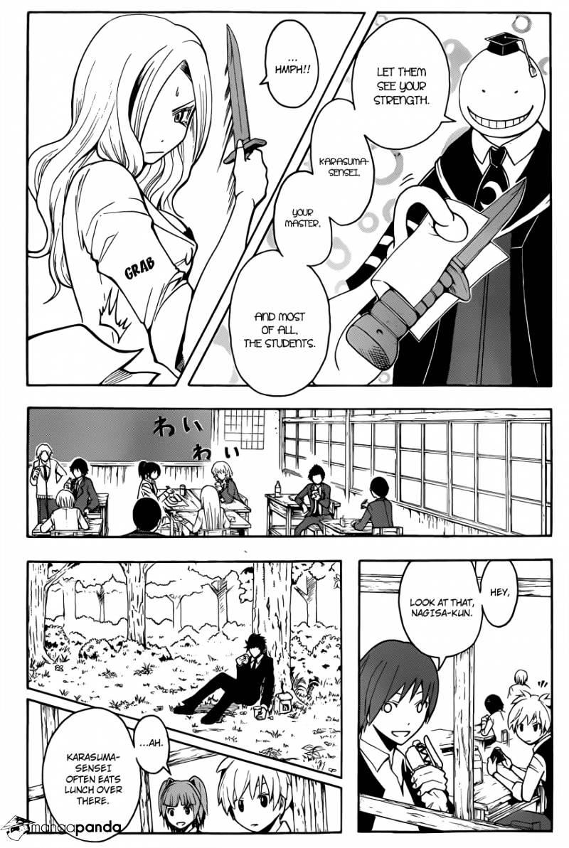 Ansatsu Kyoushitsu Chapter 27  Online Free Manga Read Image 7