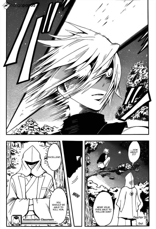 Ansatsu Kyoushitsu Chapter 28  Online Free Manga Read Image 18
