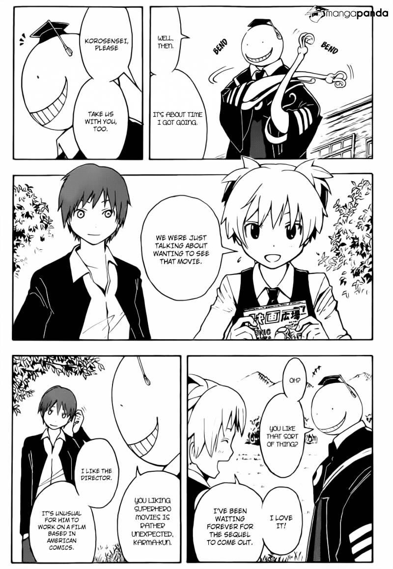 Ansatsu Kyoushitsu Chapter 28  Online Free Manga Read Image 4