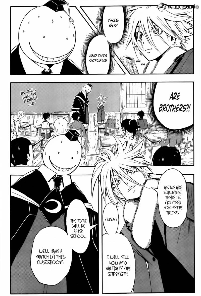 Ansatsu Kyoushitsu Chapter 30  Online Free Manga Read Image 3