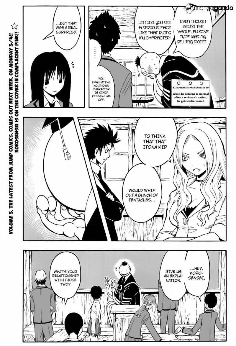 Ansatsu Kyoushitsu Chapter 32  Online Free Manga Read Image 10