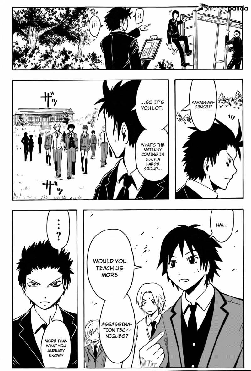 Ansatsu Kyoushitsu Chapter 32  Online Free Manga Read Image 17