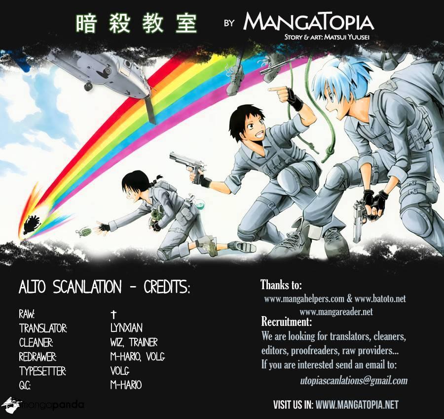Ansatsu Kyoushitsu Chapter 34  Online Free Manga Read Image 1