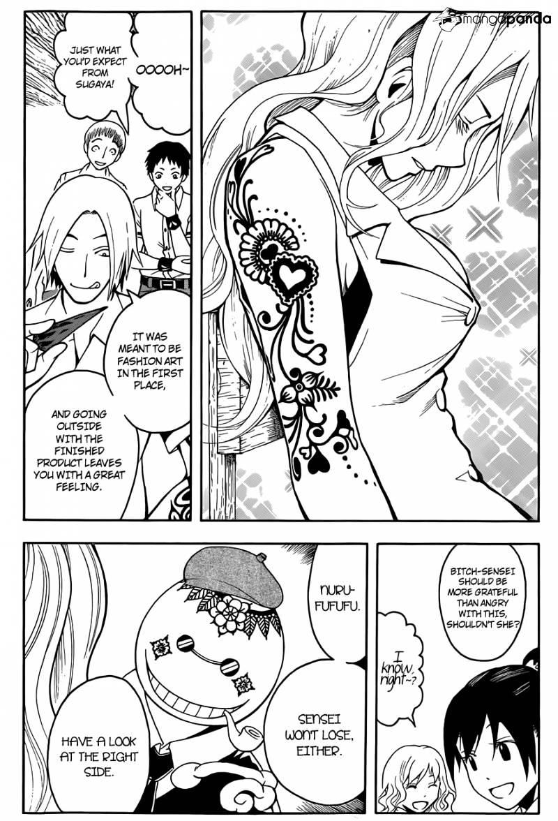 Ansatsu Kyoushitsu Chapter 37  Online Free Manga Read Image 13