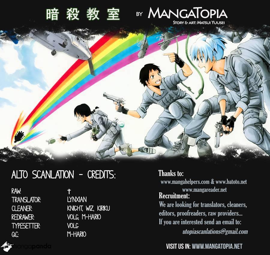 Ansatsu Kyoushitsu Chapter 38  Online Free Manga Read Image 1