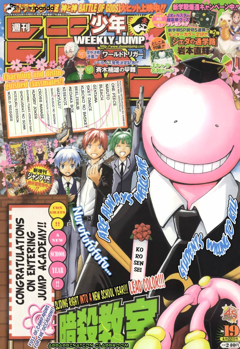 Ansatsu Kyoushitsu Chapter 38  Online Free Manga Read Image 2