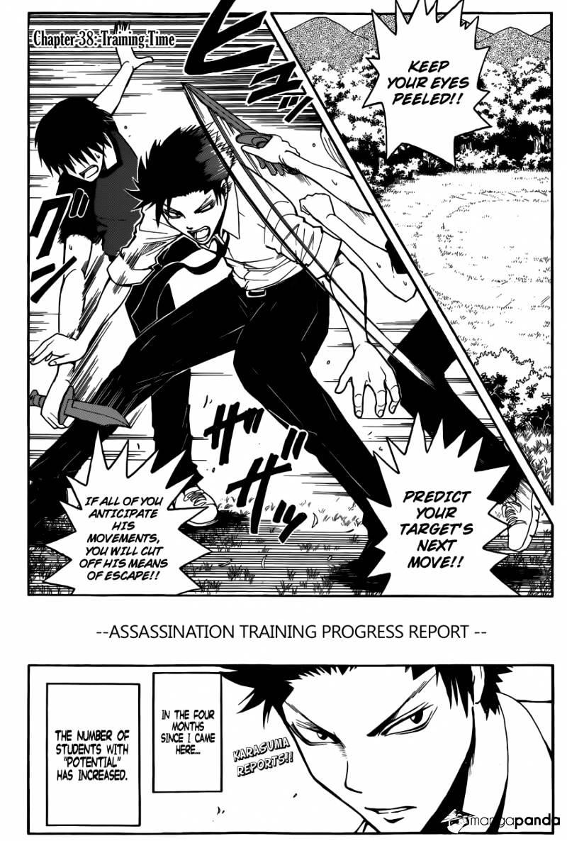 Ansatsu Kyoushitsu Chapter 38  Online Free Manga Read Image 5