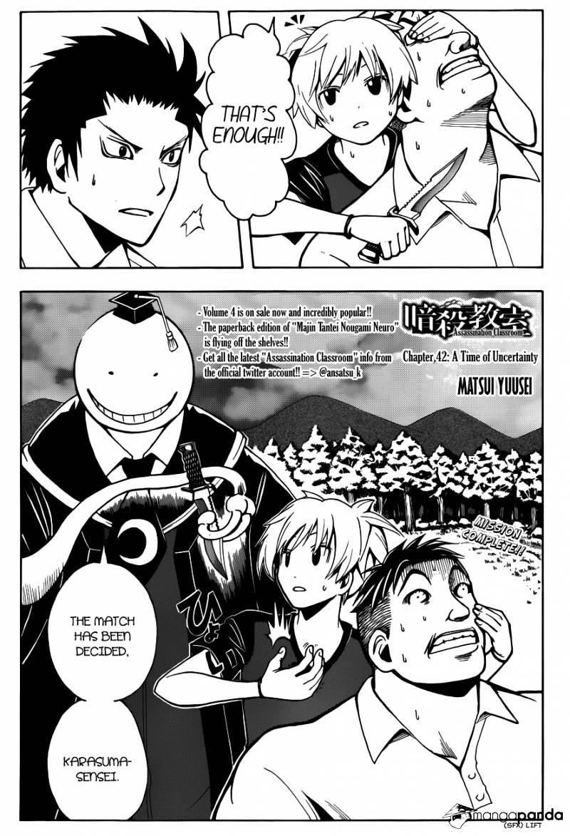 Ansatsu Kyoushitsu Chapter 42  Online Free Manga Read Image 2
