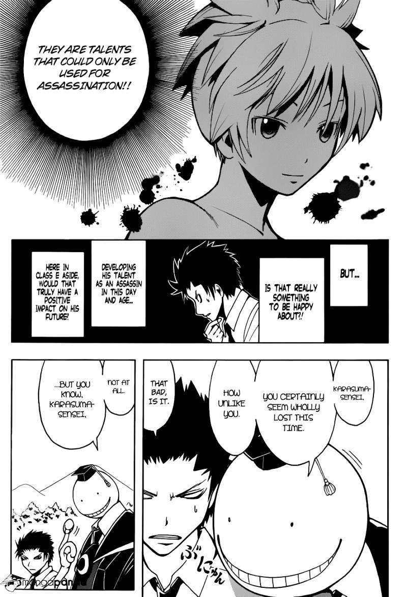 Ansatsu Kyoushitsu Chapter 42  Online Free Manga Read Image 6