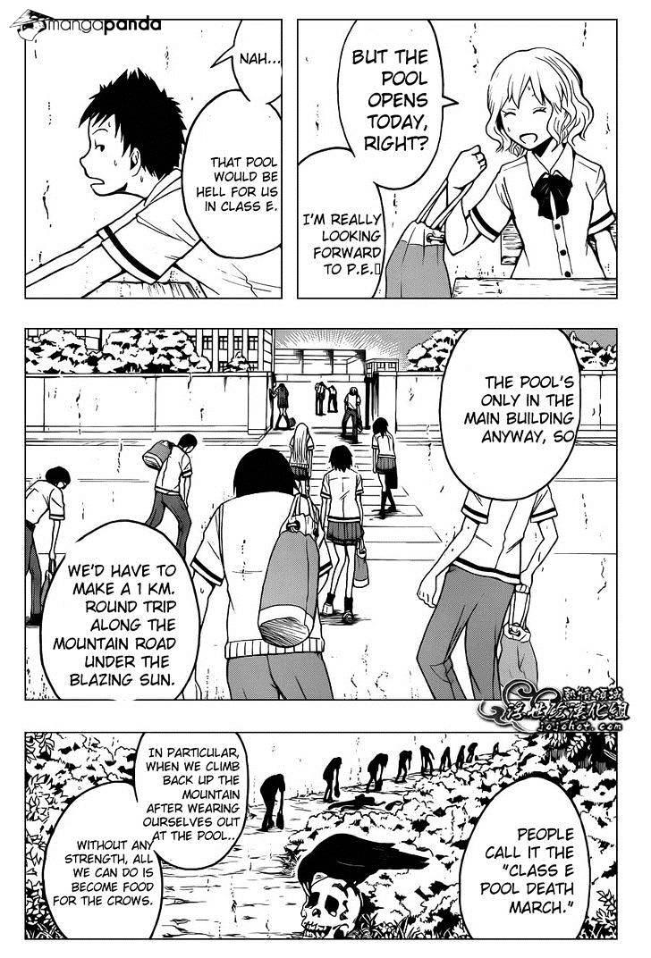 Ansatsu Kyoushitsu Chapter 43  Online Free Manga Read Image 3