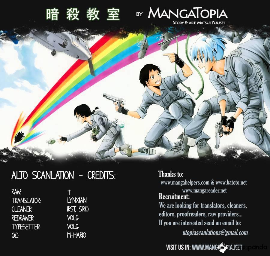 Ansatsu Kyoushitsu Chapter 44  Online Free Manga Read Image 1