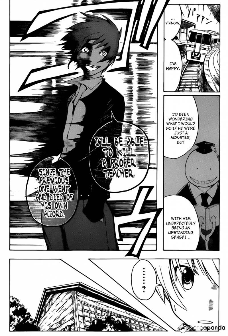 Ansatsu Kyoushitsu Chapter 5  Online Free Manga Read Image 15