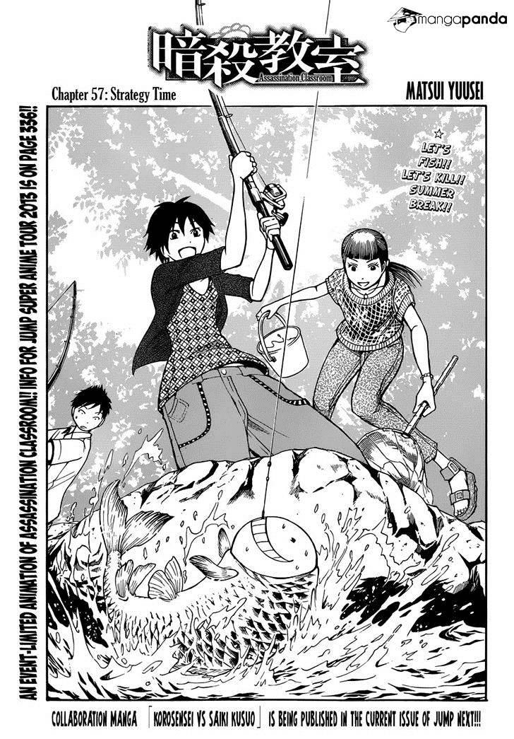 Ansatsu Kyoushitsu Chapter 57  Online Free Manga Read Image 1