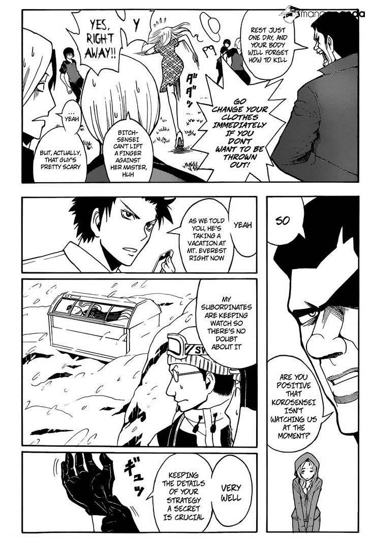 Ansatsu Kyoushitsu Chapter 57  Online Free Manga Read Image 4